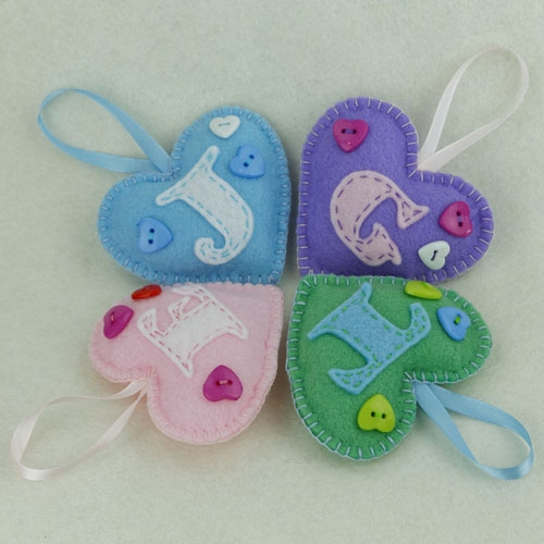 Personalised Felt Gifts